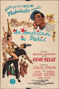 """Movie Posters:Academy Award Winners, An American in Paris (MGM, 1951). Folded, Very Good/Fine. One Sheet (27"""" X 41""""). Academy Award Winners.. ..."""