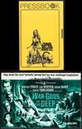 """Movie Posters:Fantasy, One Million Years B.C. & Other Lot (20th Century Fox, 1966). Fine/Very Fine. Uncut Pressbooks (4) (Multiple Pages, 8.25"""" X 1... (Total: 5 Items)"""