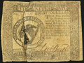 Continental Currency September 26, 1778 $8 Very Good