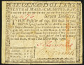 Colonial Notes:Massachusetts, Massachusetts May 5, 1780 $7 Contemporary Counterfeit Fine.. ...
