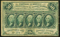 Fr. 1311 50¢ First Issue Very Fine