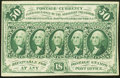 Fractional Currency:First Issue, Contemporary Inscription Fr. 1312 50¢ First Issue Very Fine.. ...