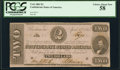 Confederate Notes:1863 Issues, T61 $2 1863 PF-8 Cr. 472 PCGS Choice About New 58.. ...