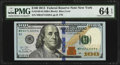 Small Size:Federal Reserve Notes, Fr. 2188-B $100 2013 Federal Reserve Note. PMG Choice Uncirculated 64 EPQ.. ...