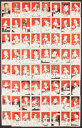 "Boxing Cards:General, 1947 D. Cummings & Son ""Famous Fighters"" Complete Set (64). ..."