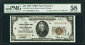 Small Size:Federal Reserve Bank Notes, Fr. 1870-L $20 1929 Federal Reserve Bank Note. PMG Choice About Unc 58.. ...