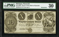 Obsoletes By State:Michigan, Plymouth, MI- Wayne County Bank at Plymouth $10 18__ Remainder G10 Lee PLY 1-7 PMG Very Fine 30.. ...