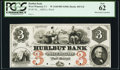 West Winsted, CT- Hurlbut Bank $3 18__ Proof G6 PCGS New 62, HPC