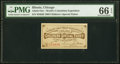 Miscellaneous:Other, World's Columbian Exposition Children's Special Ticket Oct. 21, 1893. PMG Gem Uncirculated 66 EPQ.. ...