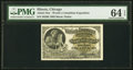 Miscellaneous:Other, World's Columbian Exposition Handel 1893. PMG Choice Uncirculated 64 EPQ.. ...