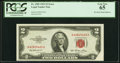 Error Notes:Foldovers, Foldover Error Fr. 1509 $2 1953 Legal Tender Note. PCGS Gem New 65.. ...