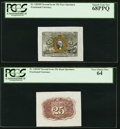 Fr. 1283SP 25¢ Second Issue Wide Margin Face PCGS Superb Gem New 68PPQ Fr. 1283SP 25¢ Second Issue Wide Margin...