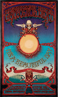 Music Memorabilia:Posters, Grateful Dead 1969 Hawaiian Aoxomoxoa Concert Poster by Rick Griffin (AOR-3.116)....