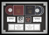 Queen Greatest Hits and Classic Queen Dual RIAA Hologram Platinum Sales Awards Presented to FMQB