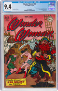Golden Age (1938-1955):Superhero, Wonder Woman #20 (DC, 1946) CGC NM 9.4 Off-white to white pages....