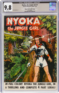 Nyoka the Jungle Girl #2 Mile High Pedigree (Fawcett Publications, 1945) CGC NM/MT 9.8 White pages