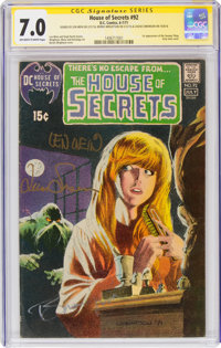 House of Secrets #92 Signature Series (DC, 1971) CGC FN/VF 7.0 Off-white to white pages