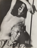 Photographs, Man Ray (American, 1890-1976). Henry Miller and Margaret Neiman, 1942. Gelatin silver. 9-7/8 x 7-7/8 inches (25.1 x 20.0...