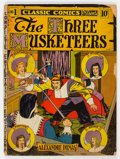 Golden Age (1938-1955):Classics Illustrated, Classic Comics #1 The Three Musketeers - First Edition (Gilberton, 1941) Condition: FR....
