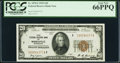 Fr. 1870-I $20 1929 Federal Reserve Bank Note. PCGS Gem New 66PPQ