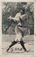 Autographs:Sports Cards, Signed 1921 Exhibit Ty Cobb from The Ty Cobb Collection. ...