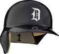 Baseball Collectibles:Others, 1980's Lou Whitaker Game Worn Detroit Tigers Helmet.