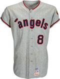 Baseball Collectibles:Uniforms, 1971 Syd O'Brien Game Worn California Angels Jersey. ...
