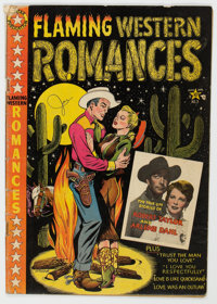 Flaming Western Romances #3 (Star Publications, 1950) Condition: GD+