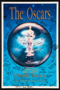 Movie/TV Memorabilia:Autographs and Signed Items, The Oscars Signed Poster From the 62nd Annual Academy Awards Filled With Signatures and Inscriptions to Producer Gil Cates Fro...
