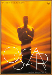 The Oscars 65th Annual Academy Awards Poster Signed and Inscribed