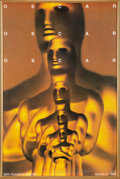 Movie/TV Memorabilia:Posters, The Oscars 66th Annual Academy Awards Poster Signed....