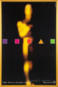 Movie/TV Memorabilia:Posters, The Oscars 63rd Annual Academy Awards Poster Signed and Inscribed....