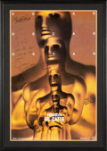 Movie/TV Memorabilia:Autographs and Signed Items, The Oscars 66th Annual Academy Awards Poster Signed and Inscribed ...