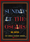 Movie/TV Memorabilia:Autographs and Signed Items, The Oscars Signed Poster From the 71st Annual Academy Awards With Signatures and Inscriptions to Producer Gil Cates From Celeb...