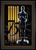 Movie/TV Memorabilia:Autographs and Signed Items, The Oscars Signed Poster From the 75th Annual Academy Awards With Signatures and Inscriptions to Producer Gil Cates From Celeb...