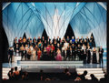 Movie/TV Memorabilia:Photos, The Oscars Framed Color Photo Print of 2003 Academy Awards Featuring Presenters and Winners (2003). ...