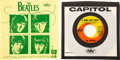 """Music Memorabilia:Recordings, The Beatles """"A Hard Day's Night""""/""""I Should Have Known Better"""" (Capitol, 5222) 7-Inch Vinyl Single With a Rare Capitol/Holiday ... (Total: 2 Items)"""