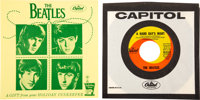 "The Beatles ""A Hard Day's Night""/""I Should Have Known Better"" (Capitol, 5222) 7-Inch Vinyl Single Wi..."
