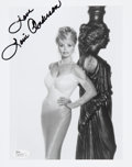"""Movie/TV Memorabilia:Autographs and Signed Items, Loni Anderson Signed 8"""" x 10"""" Black and White Photo...."""