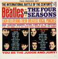 Music Memorabilia:Recordings, The Beatles Vs. The Four Seasons Mono Vinyl LP With Poster and Inner Cover (DX 30)....