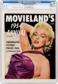 Magazines:Miscellaneous, Movieland's 1954 Annual #nn Marilyn Monroe Cover (Hillman Fall, 1954) CGC NM 9.4 Off-white to white pages....