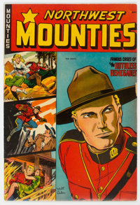 Northwest Mounties #4 (St. John, 1949) Condition: Apparent VG/FN