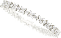 Diamond, Platinum Bracelet, Tiffany & Co