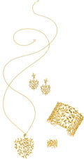 Estate Jewelry:Suites, Diamond, Gold Jewelry Suite, Paloma Picasso for Tiffany & ...