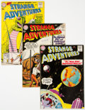 Silver Age (1956-1969):Science Fiction, Strange Adventures Group of 16 (DC, 1959-69) Condition: Average FN.... (Total: 16 Comic Books)