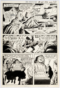 George Tuska The Unexpected #124 Story Page 7 Original Art (DC, 1971)