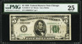Fr. 1950-G* $5 1928 Federal Reserve Star Note. PMG Very Fine 25