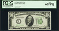 Small Size:Federal Reserve Notes, Fr. 2006-I $10 1934A Federal Reserve Note. PCGS New 62PPQ.. ...