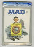 Magazines:Mad, Mad #90 Gaines File pedigree (EC, 1964) CGC NM 9.4 White pages.Norman Mingo cover. Frank Frazetta back cover. Don Martin, M...
