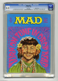"""Magazines:Mad, Mad #118 Gaines File pedigree (EC, 1968) CGC VF 8.0 White pages.""""Mission: Impossible"""" TV spoof. Beatles cameo. Norman Mingo..."""